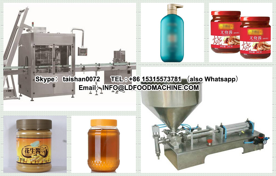 Lowest Price High Efficiency manual peanut butter filling machinery