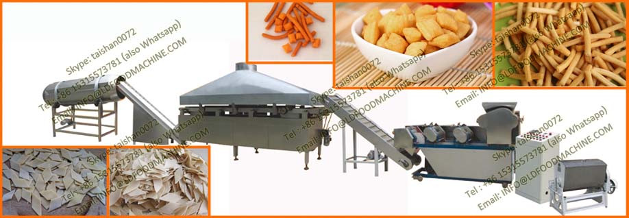 New Technology 2D Extruded Snack Pellet make Equipment