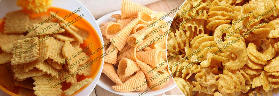 Stainless Steel crisp Corn Flour Chips make machinery