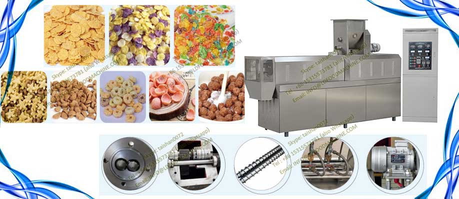 China Fully Automatic Double Screw Extrusion makeai Poha Plant