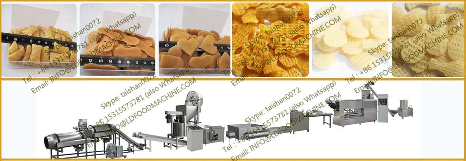 Automatic Indian 3d pani puri Golgappa pellet  processing machinery