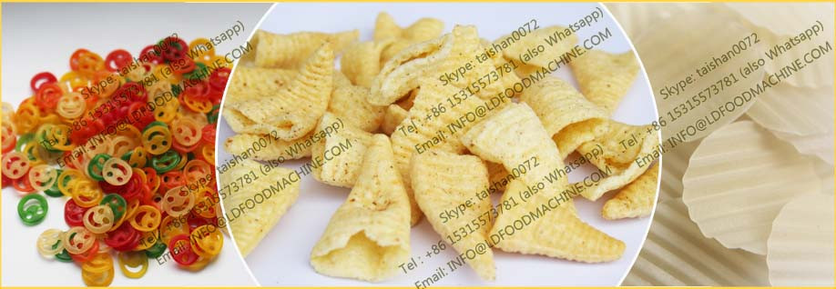 High selling Fried 3D Pellet snack machinery