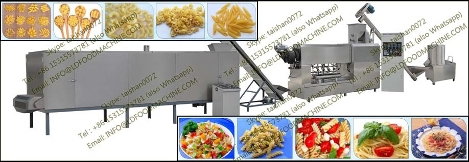 Full Automatic stainless steel Extruder for LDaghetti pasta production
