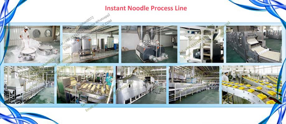 Steam Or electricity LLDe Instant Noodle make machinery