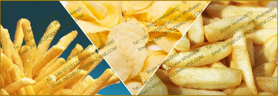 Industrial frying machinery manufacture French fries fryer make