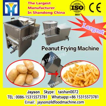 SS304 continuous gas deep frying machinery, tofu puff conveyor frying machinery