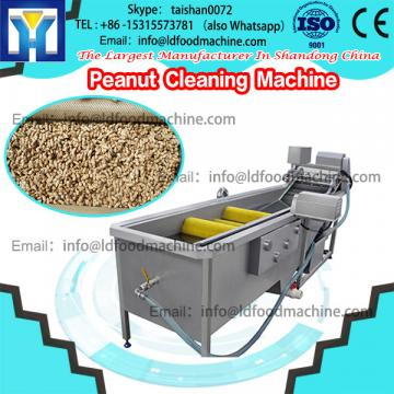Brush roller washing LLDe peanut cleaner and sheller machinery