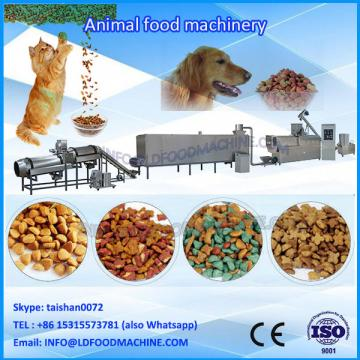 Twin screw floating fish feed extruder make machinery