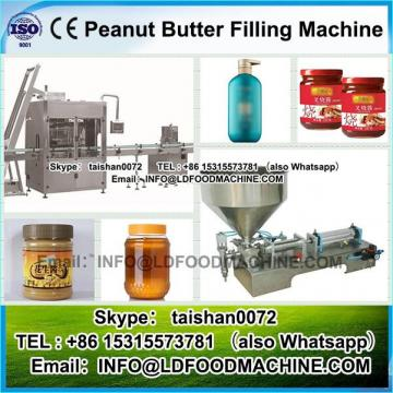 Manual soft tube filling machinery operating easily for peanut butter