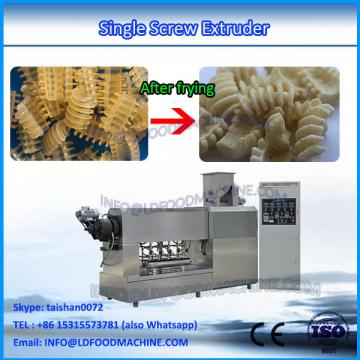 Stainless Steel Single Screw Pasta Snack Extruder With CE