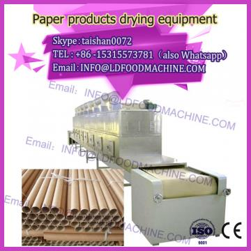 multilayer continuous microwave drying machinery for Paper products
