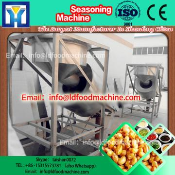 Low price Large Capacity Stainless Steel Puffed Corn Rice Snack Flavor Coating machinery