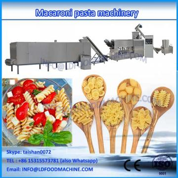 Macaroni pasta extrusion machinery rigatoni production line