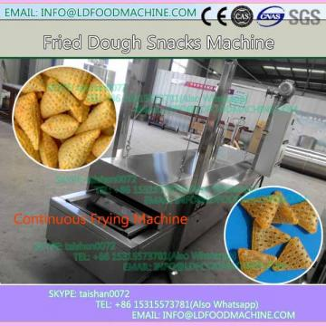 fried wheat flour snacks from twin screw extrusion processing line/wheat flour snack extruder