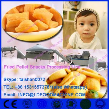 Frying snack pellets extruder