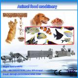 Dry feed pellets extruder for pet food processing