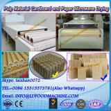 Tunnel continuous conveyor belt type egg tray dry and sterilizing microwave machine