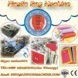 Perforated Flat Open Bag/T-shirt Bag on roll make machinery