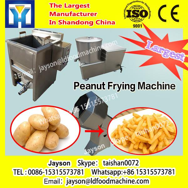 Commercial Stainless Steel Continuous Gas Snack Deep Fryer Potato Chips Groundnut Peanut Frying machinery For Sale #1 image