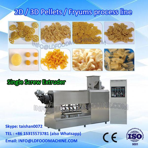 Fully automatic pasta machinery 100kg single screw food extruder #1 image