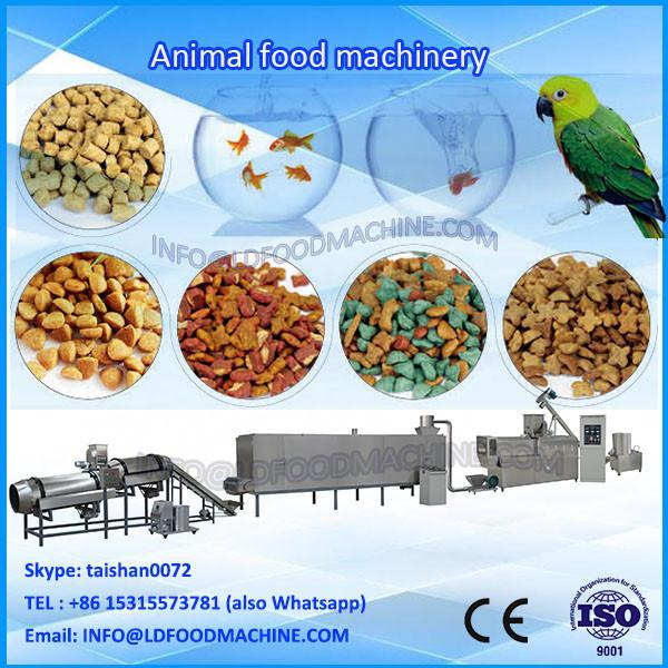 Automatic L Twin Screw Granulation Kibble Pet Food Extruder #1 image