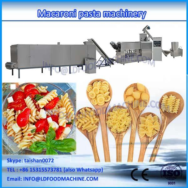 Full-automatic Italian Pasta product line/macaroni make machinery/industrial macaroni processing line #1 image
