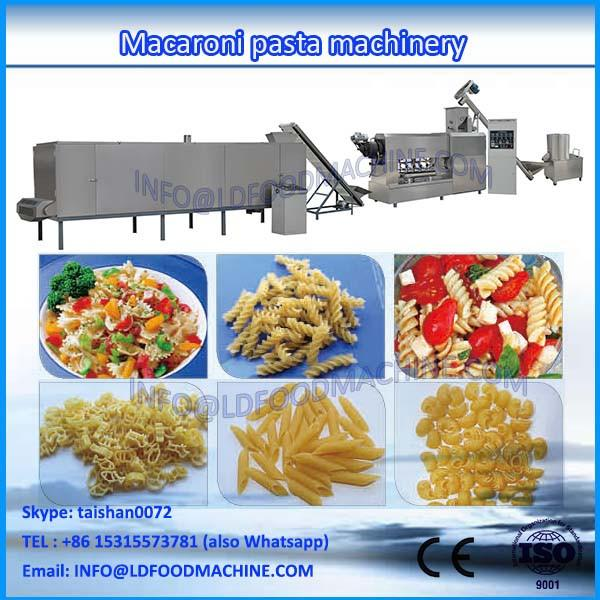 Stainless steel automatic extruded macaroni pasta manufacturing machinery #1 image