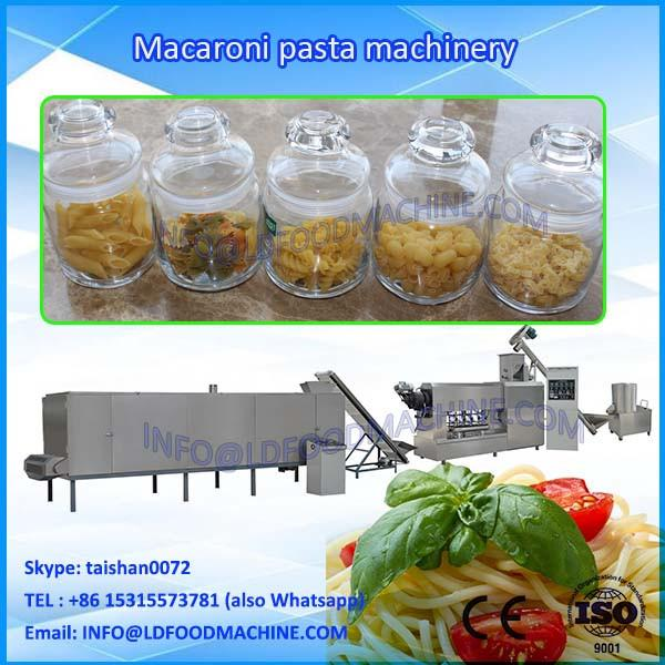 Commercial large industrial macaroni pasta make machinery single screw extruder #1 image