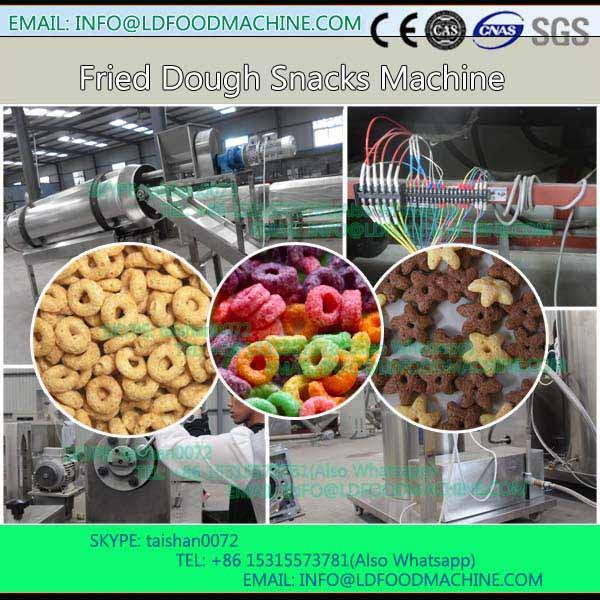 crisp Wheat Flour Chips Fried Snacks Food Extruder make machinery #1 image