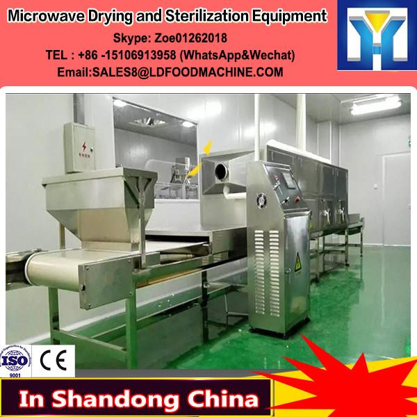 Microwave Eucommia tea Drying and Sterilization Equipment #1 image