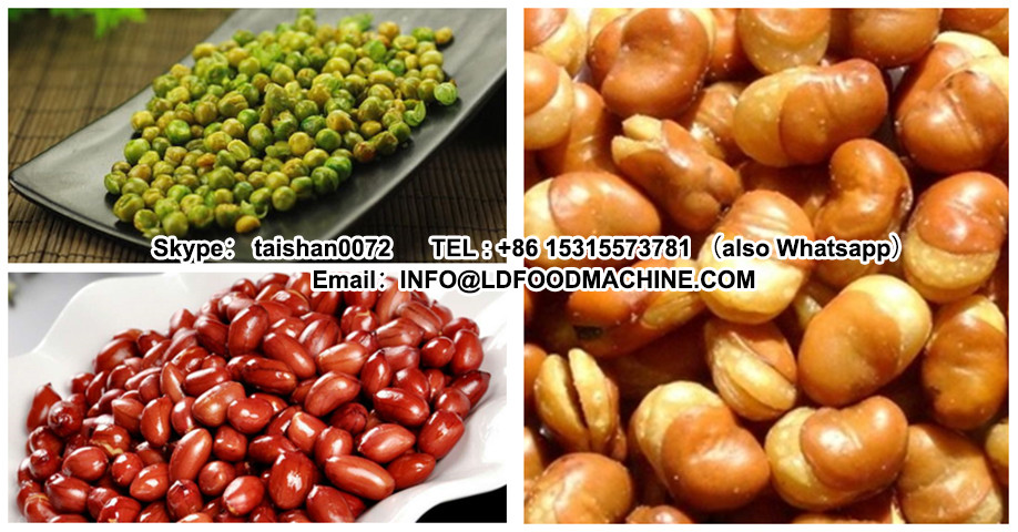 Gas Continuous Deep Frying machinery| China Gas Chickpea Deep Fryer