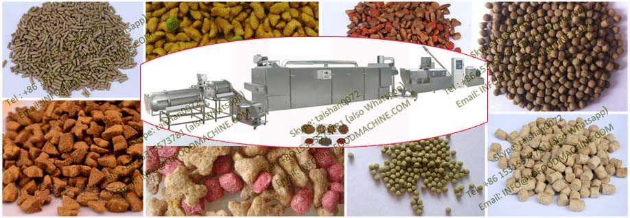 Industrial Professional Floating Fish Feed Twin Screw Extruder