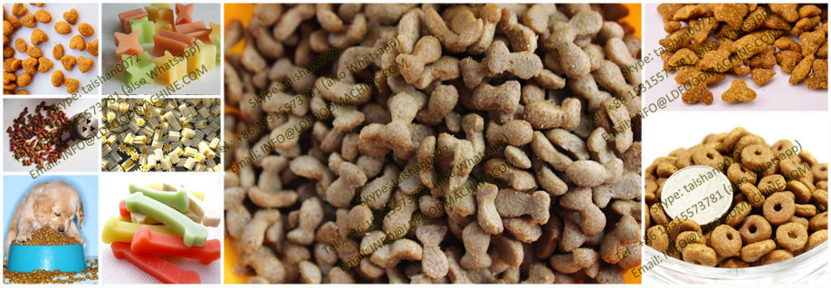 China factory low investment dog food pellet machinery