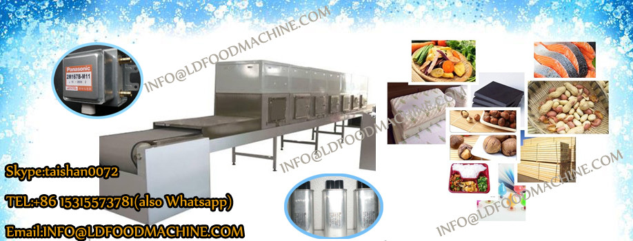 Professional continuous vegetable Microwave dryer making equipment
