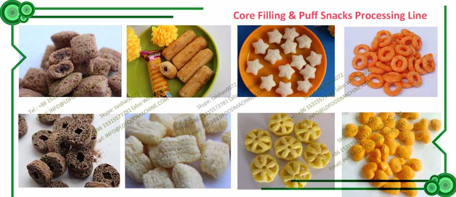 altLDa Top quality Cheese Snack Extruding Equipment
