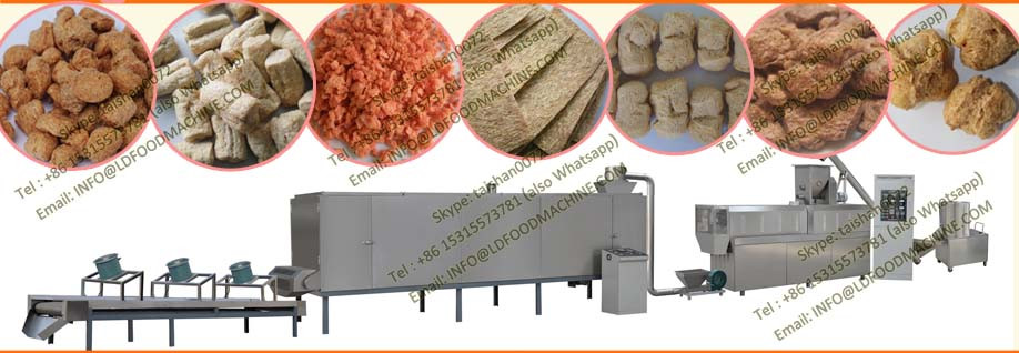 Performance moderate good taste soybean protein make machinery