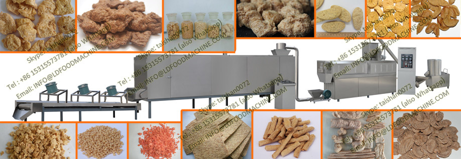 Vegetable protein meat analog processing line