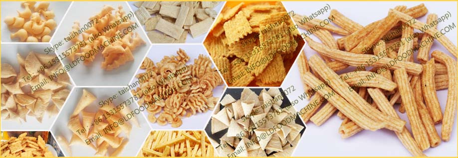 2017 Hot Sale High quality crisp Rice Flour Chips make machinery