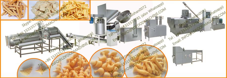 2017 Full automatic turnkey bugles snacks food make machinery