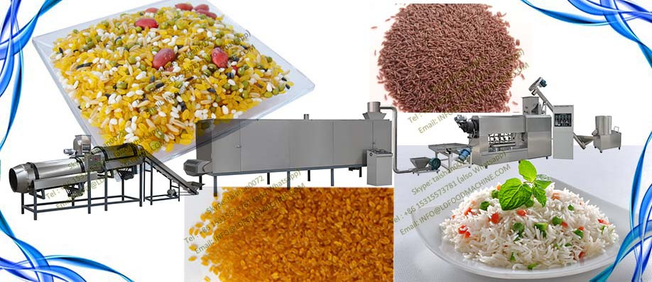 Artificial rice plant automatic stainless steel artificial rice make machinery