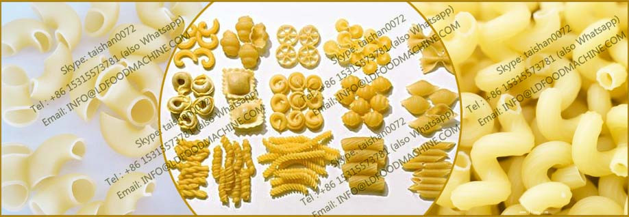 Super quality mini Capacity macaroni pasta extruder machinery