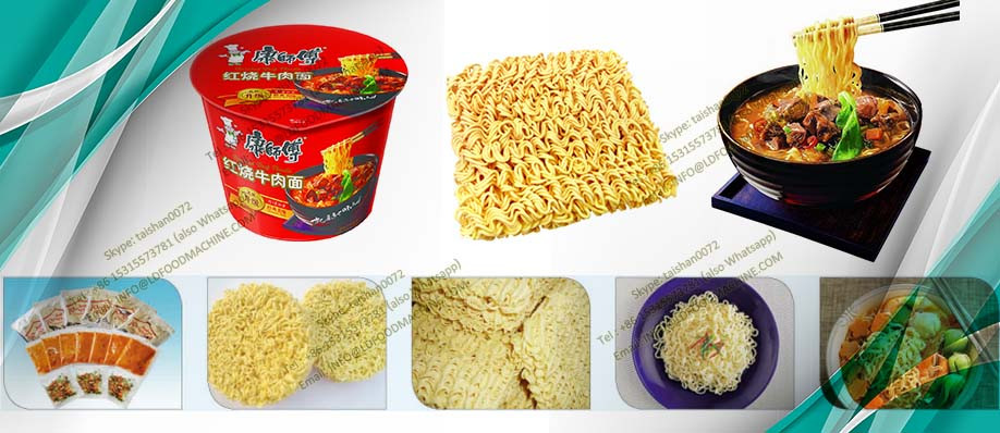 Mini high quality Instant Noodle make machinery with CE certificate