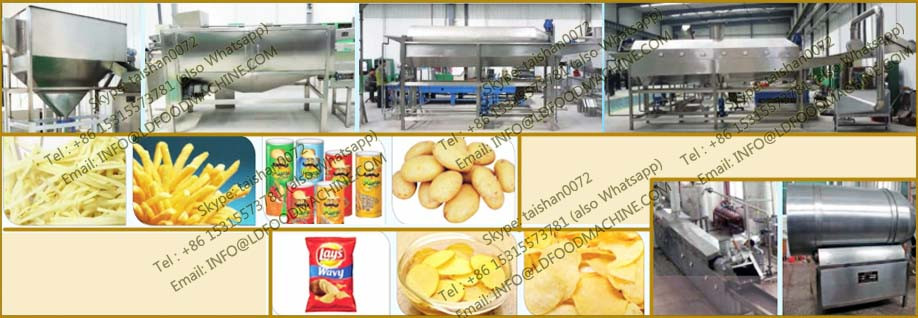 High Capacity gas French fries production line