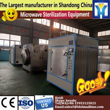 Microwave Soybean meal drying sterilizer machine