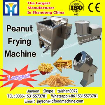 Continuous Industrial Fries frying line, deep fryer for fries