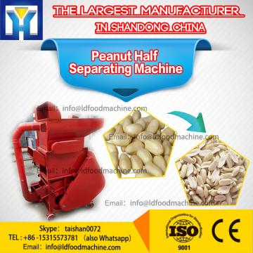 Roasted groundnut peanut half separator kernel peeler machinery