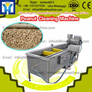Economical peanut destoner and sheller machinery set