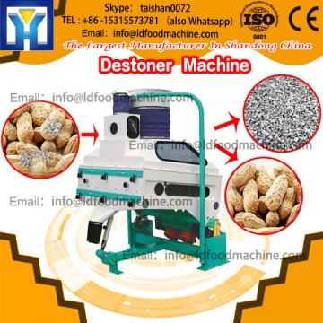 Round 4KW Groundnut Cleaning Destoner machinery Easy To Move