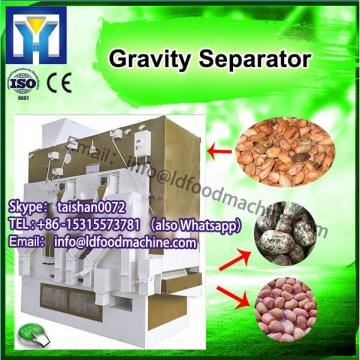 grain seed cleaner with gravity table