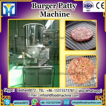 commercial burger make machinery